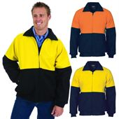 High Vis Work Bomber Jacket