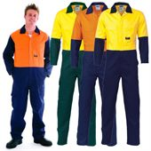 Two Tone Hi-Vis Work Coverall