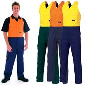 Hi-Vis Cotton Work Overall