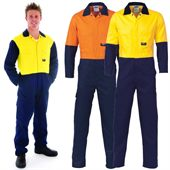 High Visibility Lightweight Cotton Coverall