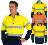 High-Vis Long Sleeve Work Shirt