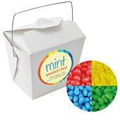 Jelly Beans Corporate Colours White Noodle Box