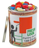 Jelly Beans Mixed Colours 1000ml Paint Tin