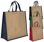 Jute Stiffened Carry Bag