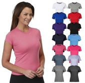 Ladies Fitted Cotton T Shirt