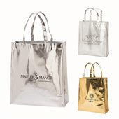 Shiny Finish Tote Bag