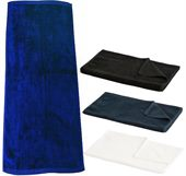 Large Plain Dyed Sports Towel