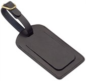 Leather Covered ID Tag