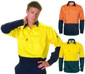 Long Sleeve Hi Viz Work Shirt