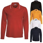 Long Sleeve Mens Polo Shirt