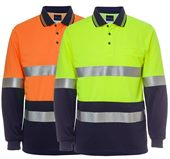 Mens Reflective Polo Shirt