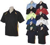 Mens Panelled Polo Shirt