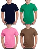 Mens Gildan Cotton T Shirt