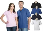 Mens Coloured Pique Knit Polo