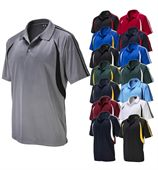 Mens Breathable Contrast Polo
