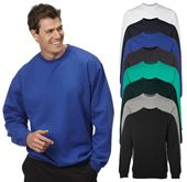 Crew Neck Fleece Sweat Top