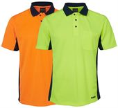 Mens Hi Visibility Polo Shirt