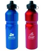 Metal Sports Water Bottle