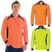 Cool Breeze Long Sleeve Polo
