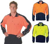 High Vis Panel Polo