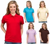 Ladies Corporate Cotton Polo