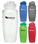 Poly Clear Water Bottle