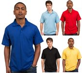 Poly Cotton Knit Mens Polo Shirt