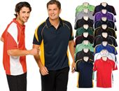 Wide Panelled Polo Shirt