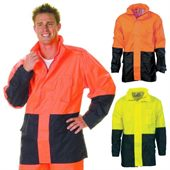 Lightweight Reflective Rain Jacket