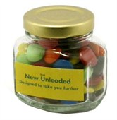 Gift Twist Jar with Chocolate Bean