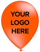 Promotional Orange Balloons
