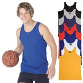 Colored Mens Singlet