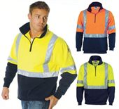 Hi Vis Fleece Sweat Top