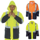 Hi Vis Lightweight Rain Jacket