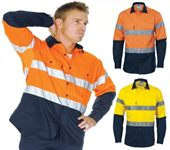 Day & Night Hi Vis Cotton Shirt