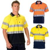 Reflective Tape Hi Vis Jersey Shirt