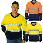 Reflective Tape Hi Vis Sweat Shirt