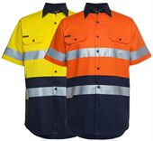 Short Sleeve Hi Vis Work Shirt