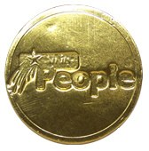 Single Side Chocolate Coin