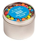 160g Round Window Tin