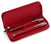 Soft Cased Twist Action Pen Set