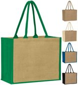 Spacious Jute Shopper