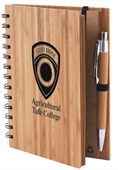 Spiral Bound Bamboo Notebook