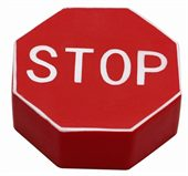 Stop Sign Stress Ball