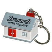 Stress House Key Ring
