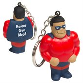 Super Man Stress Reliever Keyring