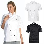 Traditional Short Sleeve Chef Jacket