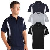 Contrast Cool Dry Polo Shirt