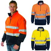 Two Tone Reflective Tape Hi Vis Windcheater