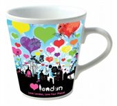 Full Colour V Shape Mug